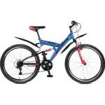 "Велосипед 26 дюйма Stinger Banzai 18"" синий TZ30/TY21/RS35"