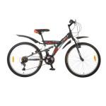 Велосипед 24 дюймов FOXX ATTACK 14д рама 18 скоростей, серый 24SFV.ATTACK.14GR5.FP