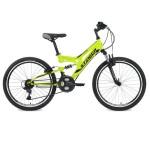 "Велосипед 24 дюйма Stinger Highiander 14"" зеленый 24SFV.HILANDER.14GN8"