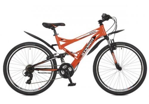 Велосипед 26 дюймов Stinger Versus рама 20 оранжевый 26SFV.20OR7