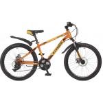 """Велосипед 24 дюймов Stinger Aragon 12,5"""" сталь оранжевый 117359"""