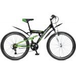 "Велосипед 26 дюйма Stinger Banzai 20"" зеленый TZ30/TY21/RS35"