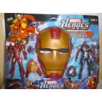 Герой на картоне с маской Железный человек G020-Н21284