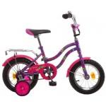Велосипед 12 дюймов Новатрек TETRIS фиолетовый