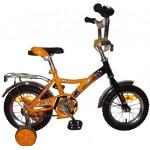 Велосипед 12 дюймов Новатрек FR-10 жёлтый