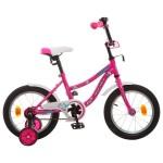 Велосипед 14 дюймов Новатрек NEPTUN розовый