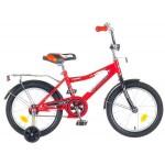 Велосипед 16 дюймов Новатрек COSMIC красный